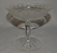 Waterford Crystal Glandore Pattern Footed Compote Bowl/Candy Dish - $42.06