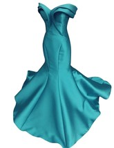 Women's Mermaid Off Shulder Prom Dresses Tiered Formal Party Gowns Eveni... - $115.99