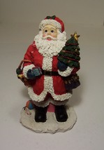 Santa Figure Vintage Old World Hand Painted 11 ½ in. 1999 - $9.99