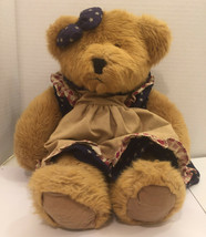 Russ Berrie Amelia Patriotic Teddy Bear Plush Bears from the Past - $5.09