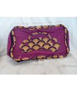 Vera Bradley small Packing Cube Travel Bag Plum Crazy pattern  - $37.00