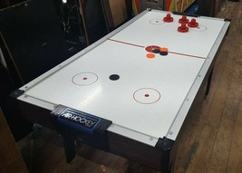 Vintage BRUNSWICK 3' x 6' Small Size Air Hockey Table WORKS - $534.34