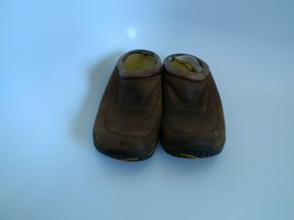 Womens Merrell Jungle Quilted Suede Mocha Open Heel Clogs Size 6 - $21.99