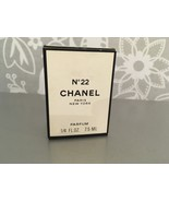 RARE Chanel №22 EDT 1/4oz oz/ 7.5ml new&sealed - $147.51