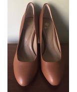 Isola Eleni II Women US 8.5 Cognac Heels Pre Owned -EUC - $26.14