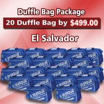 20 Duffle Bag Package El Salvador Color Blue by Arza Soccer(Team Bag) - $395.01