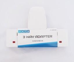 3 Way UK Travel Plug Extension Adapter  DATA H-28532 13 Amp 240V AC Whit... - $17.87