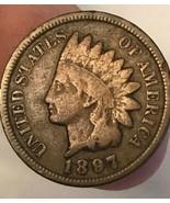 1897 Philadelphia  Indian Head Cent - $19.80