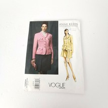 Vogue V2834 Anne Klein Suit Jacket Skirt Size Pattern Size 8 10 12 Desig... - $26.99