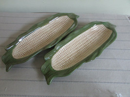 DEPT 56 91328 POTTERY PAIR OF CORN COB HOLDERS  NEW WITH TAGS - $24.70
