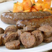 Venison Sausage with Blueberries and Merlot Wine - 12 x 12 oz pack, 4 links - $101.97
