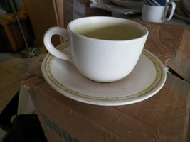 Franciscan cup and saucer (Hacienda Green) 10 available - $3.91