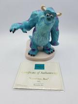 WDCC Disney Monster's Inc. Sully - Good-Bye Boo Figurine w/ COA  - $246.46