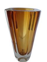 Reed and Barton Heavy Full Lead Crystal Vase 8 Pds Illumina Slovenia - $157.50