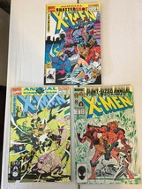 Uncanny X-MEN Annual 11 15 16 Marvel Comic Book Lot Of 3 VF+/NM Condition - $7.19