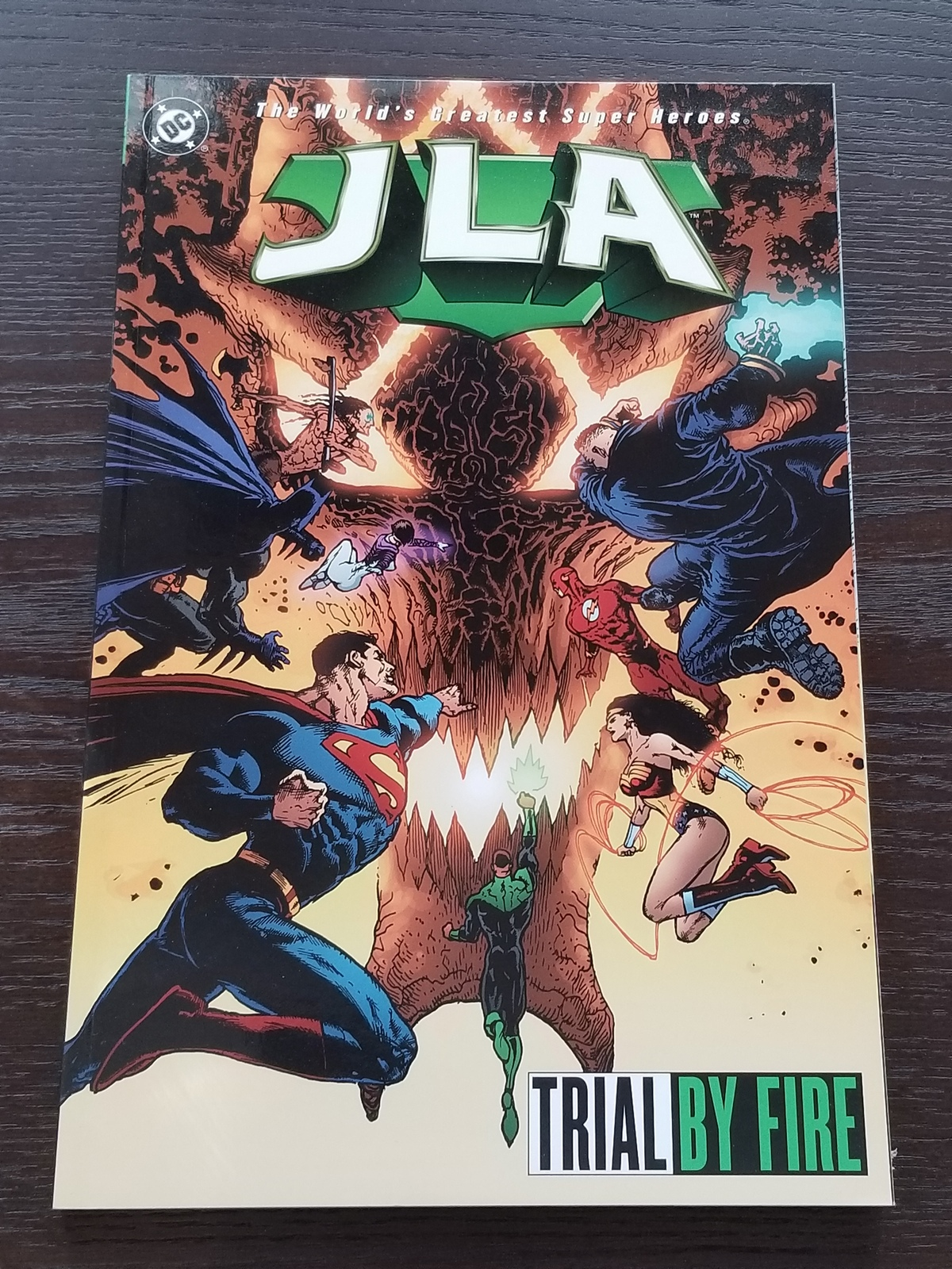 JLA Trial by Fire Softcover Graphic Novel