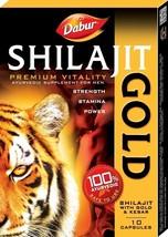 DABUR SHILAJIT GOLD 3 x 10 = 30 CAPSULE Dabur-SHILAJIT-GOLD-Sexual-Remedies - $13.36