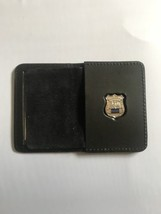 Police Officer Plain Generic Mini Shield  Leather ID Wallet - 2018 - $23.76