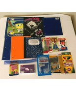 Back to School Supplies Kit Essentials Bundle Lot Notebooks Pens Grades ... - $19.99