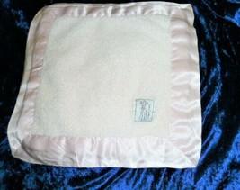 Little Giraffe Pink Satin Lovey Security Blanket Baby Girl 15.5 x 15.5 Mini - $24.74