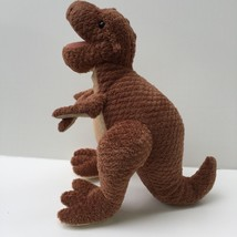 "Prehistoric Pals Plush Brown Dinosaur T Rex 14"" 2006 Commonwealth Stuffe... - $12.86"