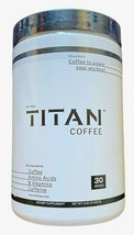 Titan Coffee to Power your Workout 30 Servings Amino Acids & B Vitamins ... - $15.83