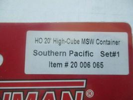 Atlas # 20006065 Southern Pacific Set #1 20' High-Cube MSW Container (HO) image 3