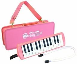 Girls Pink 25 Key Melodica Puff-n-Play Schoenhut Kids Musical Instrument... - $34.99