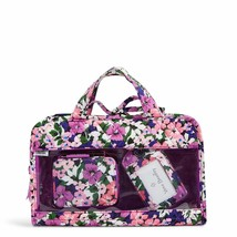 Vera Bradley Factory Style Travel Bundle  In Signature Cotton Flower Garden - $42.00