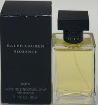Ralph Lauren Romance Cologne 1.7 Oz Eau De Toilette Spray - $299.98