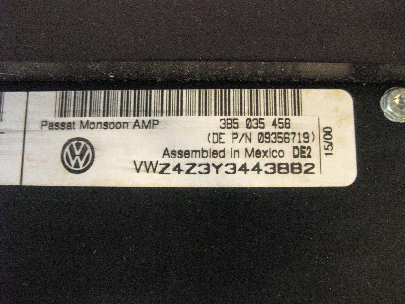 Volkswagen Passat GLS 2001 Amplifier Amp Stereo Radio Audio CD OEM
