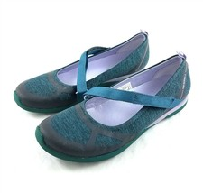 Merrell Ceylon MJ Teal Lilac Flats Comfort Shoes Mary Janes Womens 7.5 M - $29.69