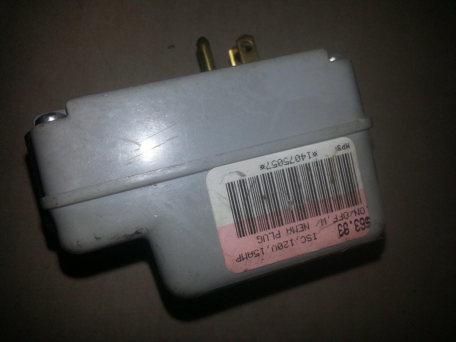 Balboa 99601 Electronic Control Sensing Box No Button 120v 15A SC Control  image 2