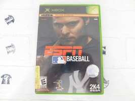 ESPN Major League Baseball Microsoft Xbox, 2004 With Manual - $12.19