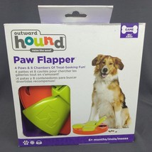 Outward Hound Kyjen 41008 Paw Flapper Treat Toy Animal Dog Toys Scent Pu... - $14.46