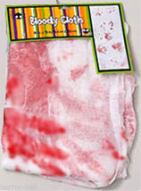 Haunted House Morgue--BLOODY CREEPY CLOTH--Halloween Prop Table Door Decoration image 5