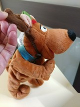 "Scooby Doo Bean Bag REINDEER 9"" plush Warner Bros Studio Store 1997 NWT - $13.74"