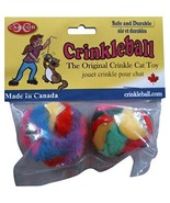 Cancor Innovations Mini Crinkle Ball Cat Toy 2 Pack - $3.04