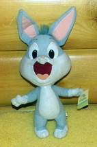 "Bugs Bunny 1-Tooth Baby Looney Tunes 10"" Plush Looks Ready to Yell Hello - $6.59"