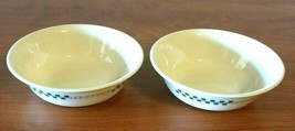 Vintage Set of 2 Home Made Cereal Bowl  Corelle by Corning USA  - $12.86