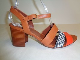 Cole Haan Size 8.5 M ANISA HIGH Brown Leather Dress Sandals New Womens S... - $127.71