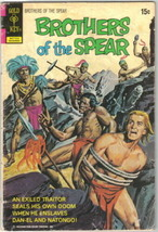 Brothers of the Spear Comic Book #3 Gold Key Comics 1972 GOOD+ - $2.99