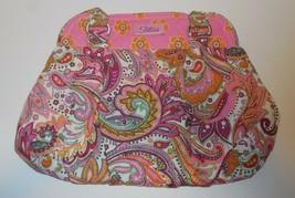 TLC The Longaberger Company Sisters Maddy Handbag Purse Pink Paisley Tru... - $16.82