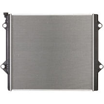 RADIATOR TO3010329 FITS 2010 TOYOTA 4RUNNER 2.7L 2694CC A/T 4CYL W/TOC image 3
