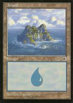 Magic: The Gathering: Fallen Empires - Island - $0.49