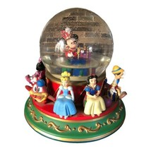 Disney Mickey Mouse In Toyland Musical Snow Globe Damaged See Description - $69.29