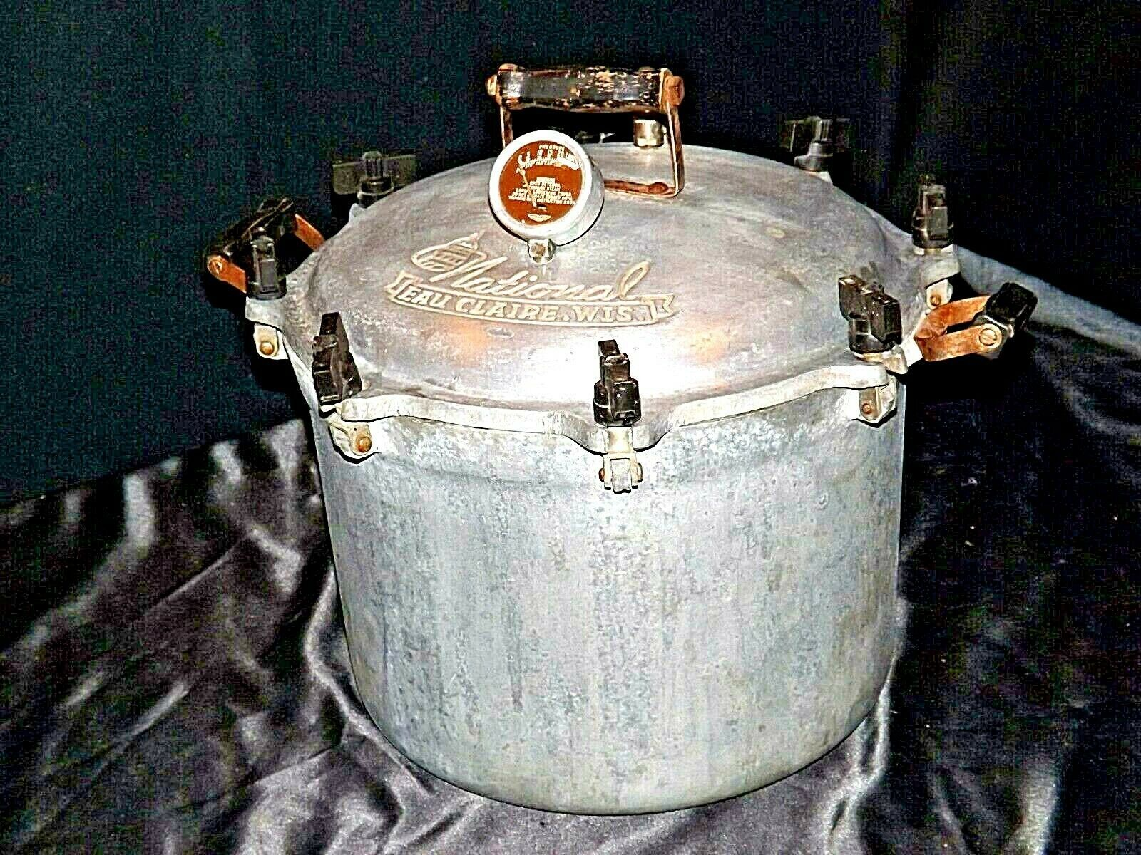 C 21 National Pressure Cooker  AA19-1522 Antique