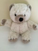 "Commonwealth Lush Plush Beige Teddy Bear Plush Stuffed Animal 1985 14"" - $34.65"
