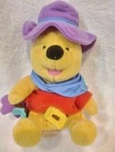 """Disney Winnie the Pooh Plush Ride'em Cowboy by Star Bean 8""""  - $16.34"""