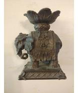 "Bombay Company Figural Elephant 3"" Pillar Candle Holder 7 3/4"" Tall 6 3/... - $24.70"